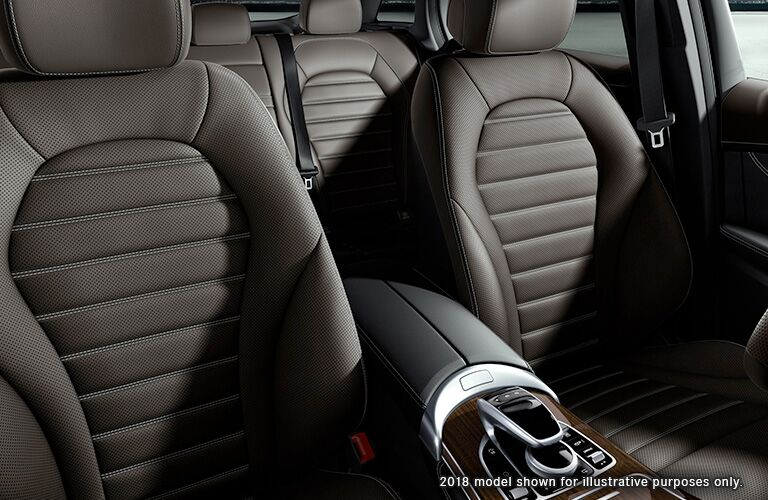 2019 MB GLC interior front cabin seats