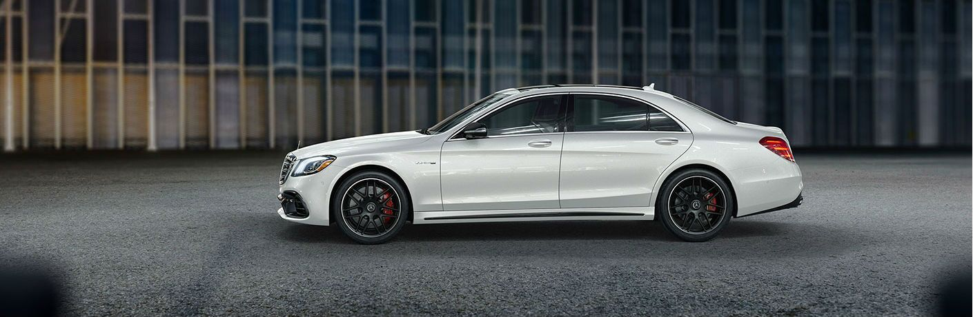 2019 MB AMG S 63 exterior drivers side profile