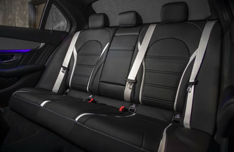 2019 MB C-Class interior back cabin seats