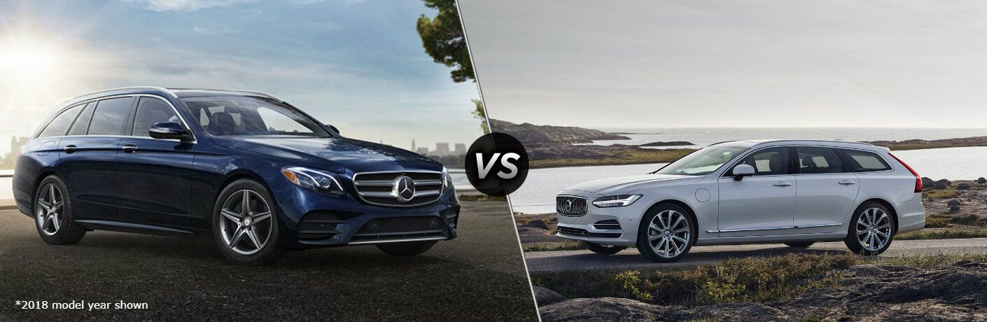 2019 Mercedes-Benz E-Class Wagon vs 2019 Volvo V90