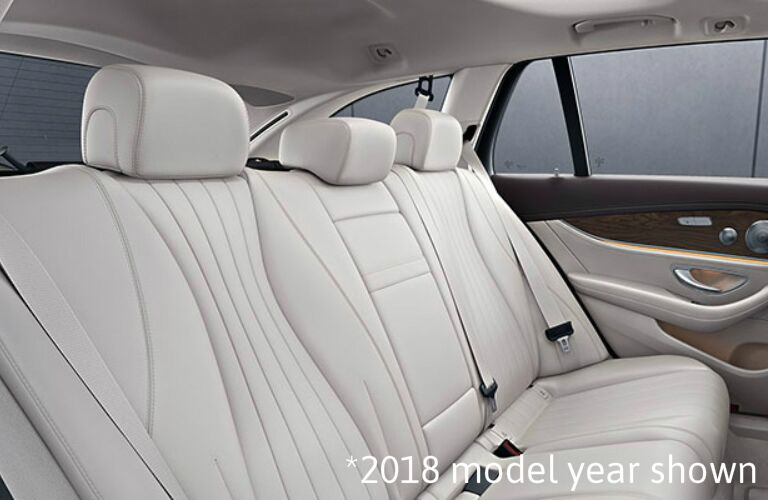 white seats in the 2019 Mercedes-Benz E-Class Wagon