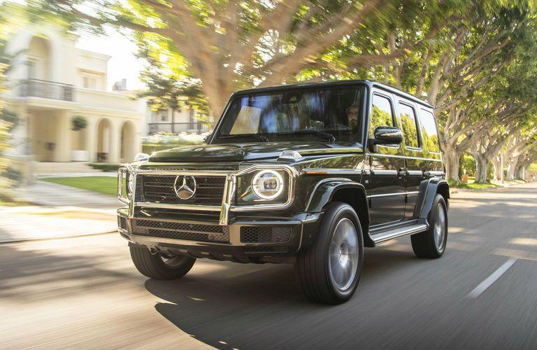 2019 Mercedes-Benz G-Class SUV on city street