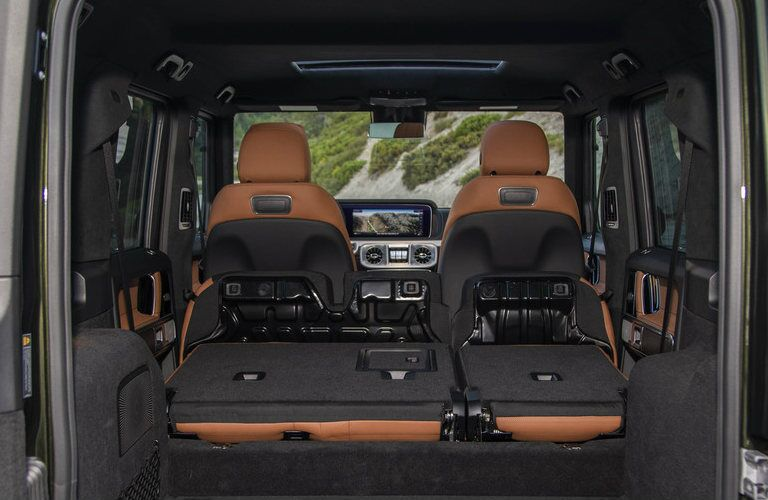 2019 Mercedes-Benz G-Class SUV interior cargo area