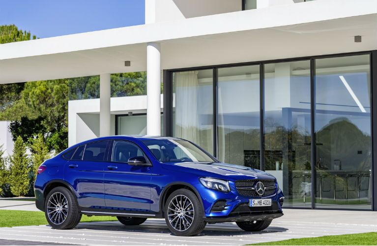 2017 Mercedes-AMG GLC43 Coupe Bumpers