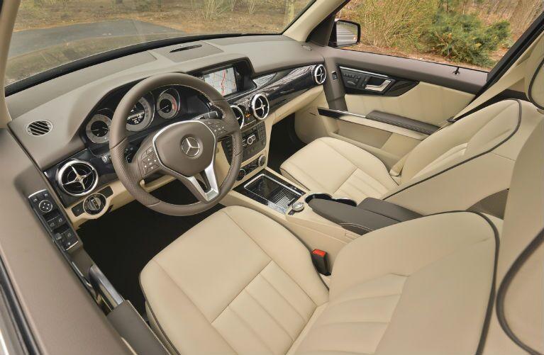 2015 Mercedes-Benz GLK350 Tan Steering Wheel