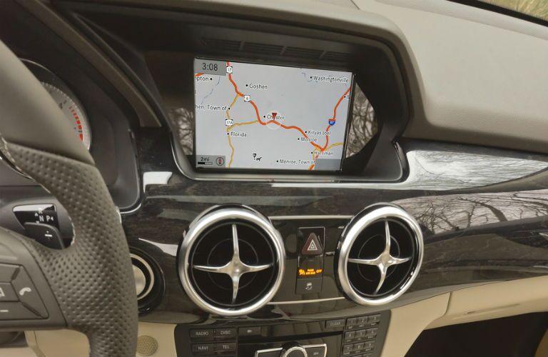 2015 Mercedes-Benz GLK350 Infotainment Navigation