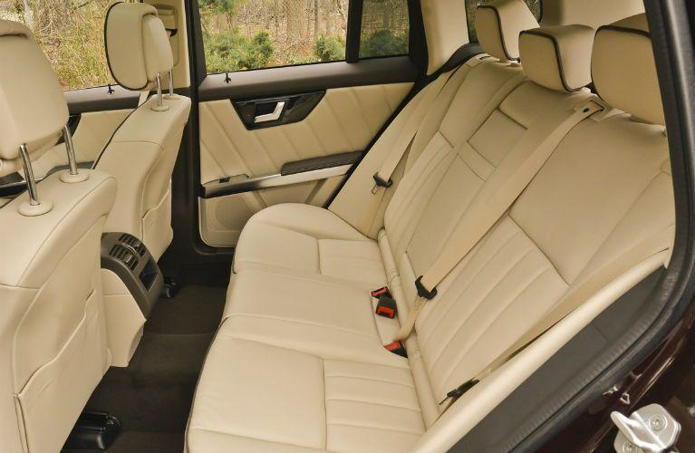 2015 Mercedes-Benz GLK350 Tan Folding Rear Seats