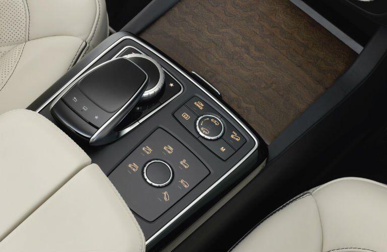 2017 Mercedes-Benz GLS interior controls