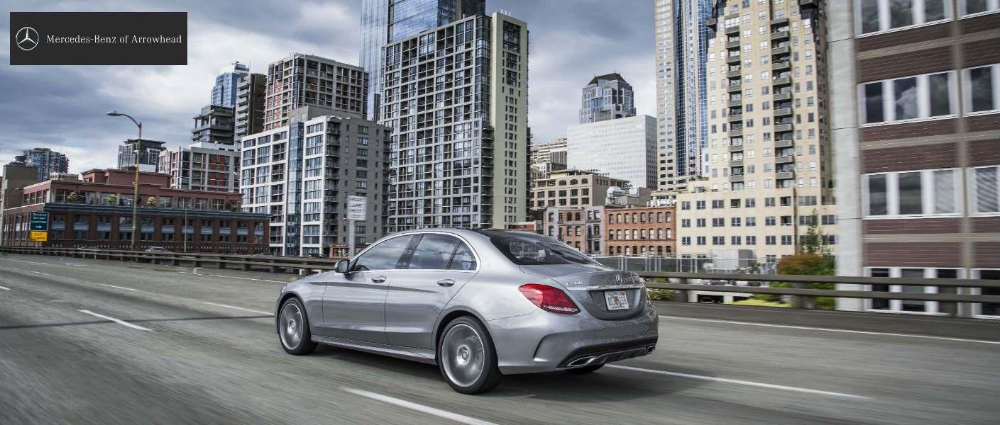 2015 Mercedes-Benz C-Class Palladium Metallic Exterior