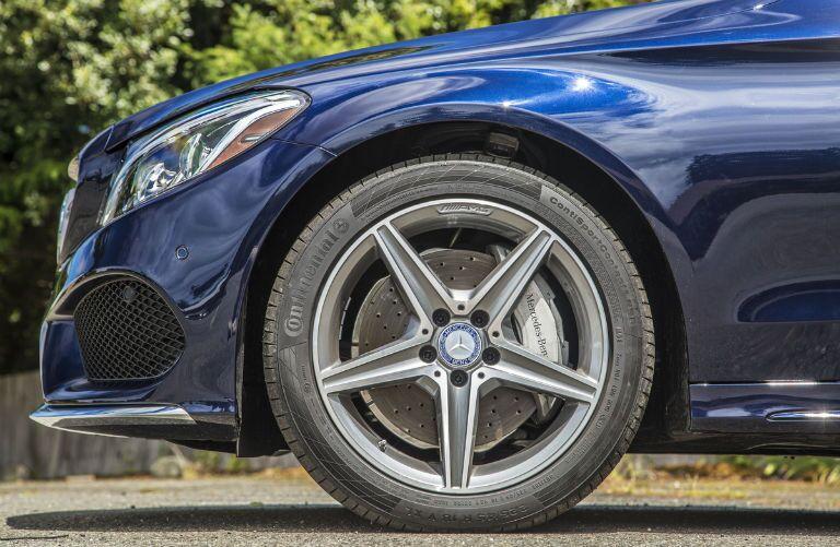 2015 Mercedes-Benz C-Class Lunar Blue Exterior Brake Rotor