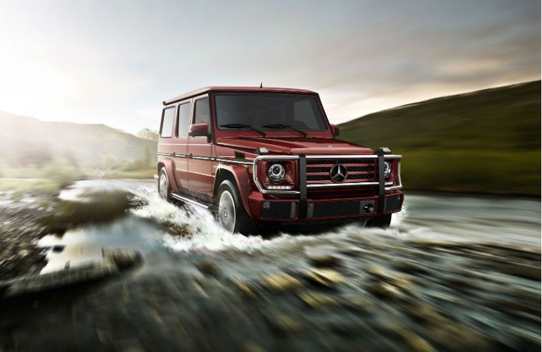 2017 Mercedes-Benz G550 Fording the River