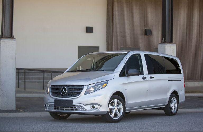 2016 Mercedes-Benz Metris Passenger Van Silver Exterior