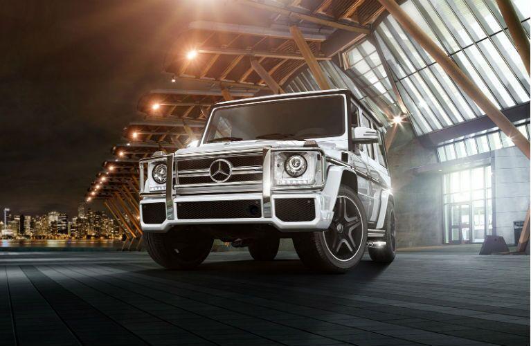 2017 Mercedes-Benz G-Class Headlights