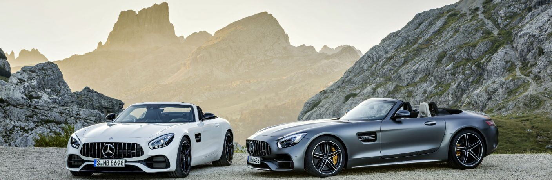 2018 Mercedes-AMG GT Roadster VS GT C Roadster
