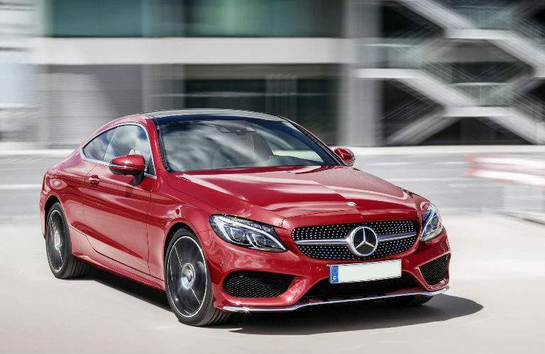 Mercedes Benz Of Arrowhead Model Research. 2017 C Class Coupe In Red And  Black