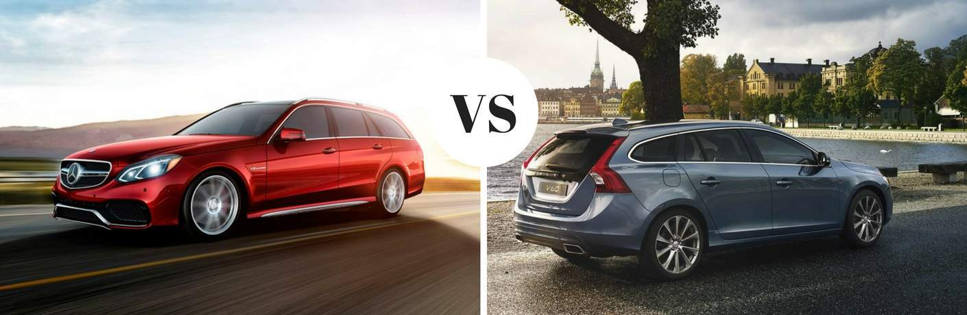 2017 Mercedes-Benz E-Class Wagon vs 2017 Volvo V60