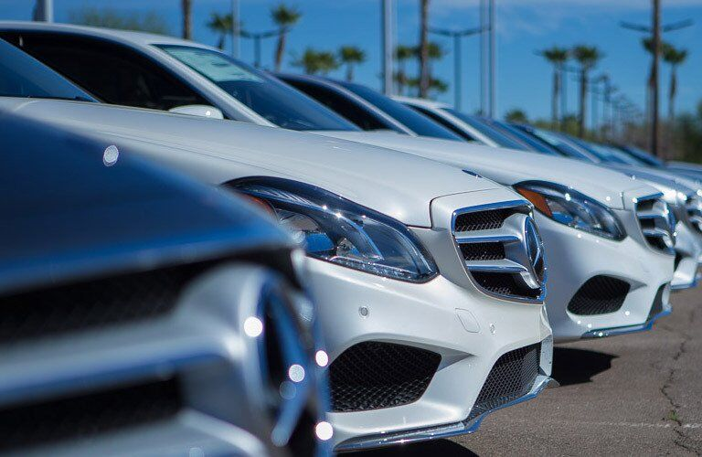 Mercedes-Benz lineup in Phoenix AZ