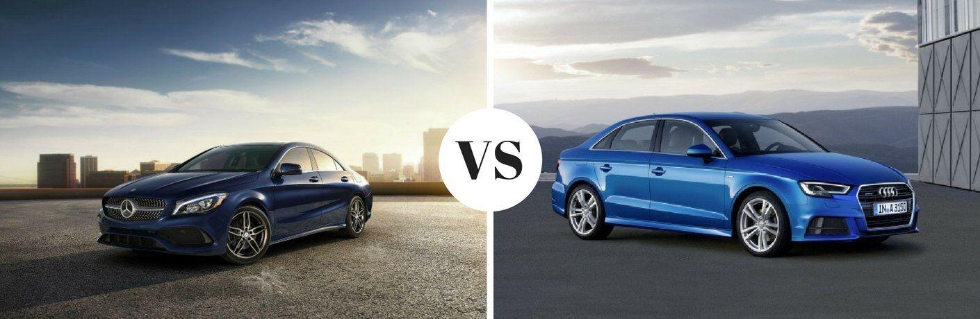 2018 Mercedes-Benz CLA vs 2018 Audi A3