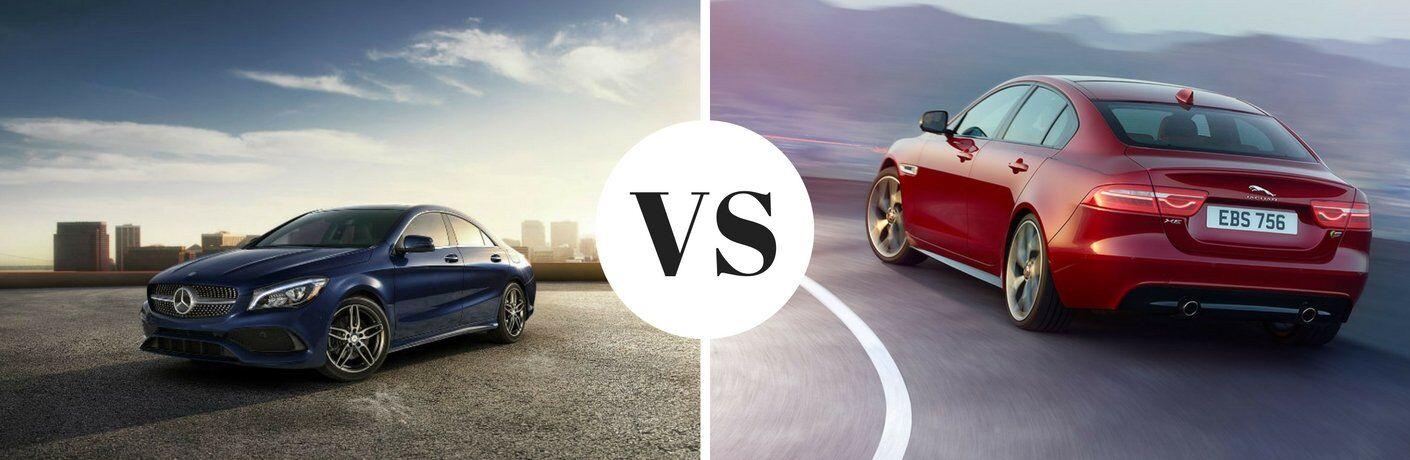 2018 Mercedes-Benz CLA vs 2018 Jaguar XE