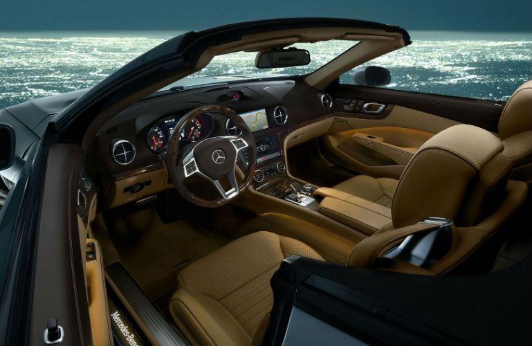 2016 Mercedes-AMG SL63 Ginger Beige Interior
