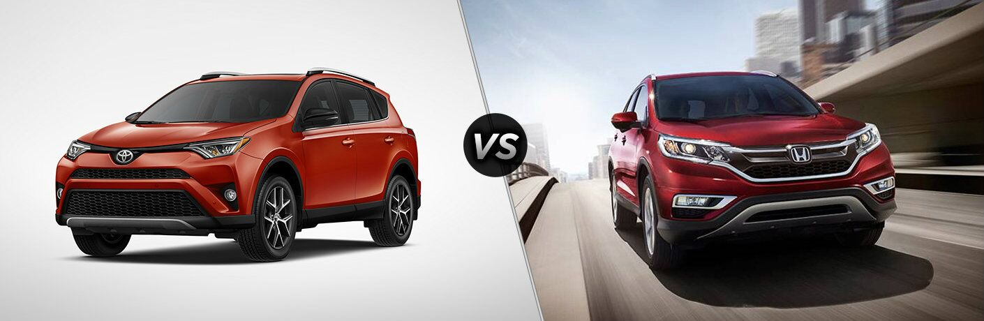 Used toyota rav4 vs used honda cr v for Honda crv vs toyota highlander