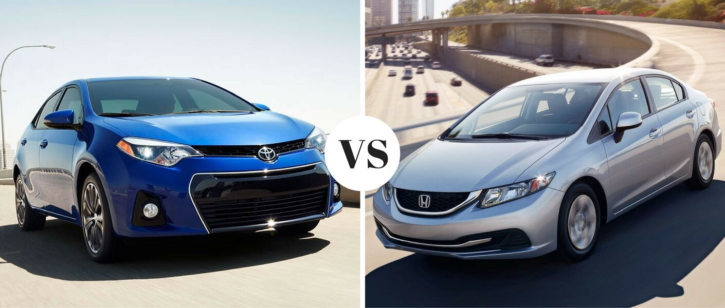 Used toyota corolla vs used honda civic for Honda vs toyota reliability
