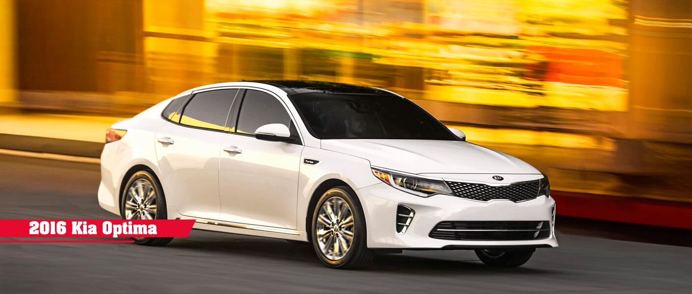 2016 Kia Optima performance space fuel economy features Muncie IN
