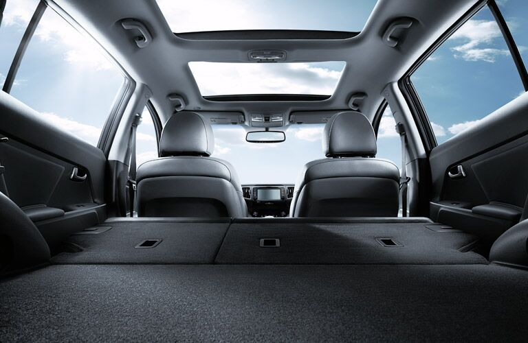 2016 Kia Sportage split folding rear seats