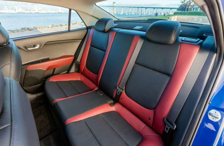 Seating in the new Kia Rio