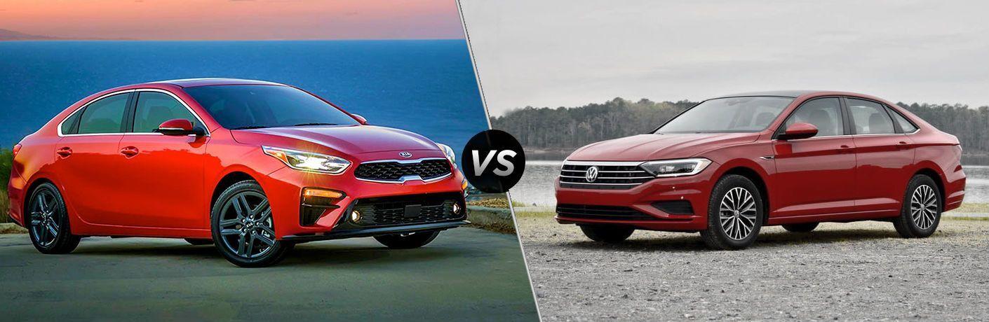 2019 Kia Forte vs 2019 Volkswagen Jetta