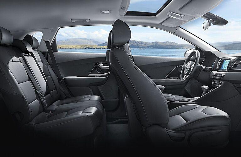 2019 Kia Niro interior seating