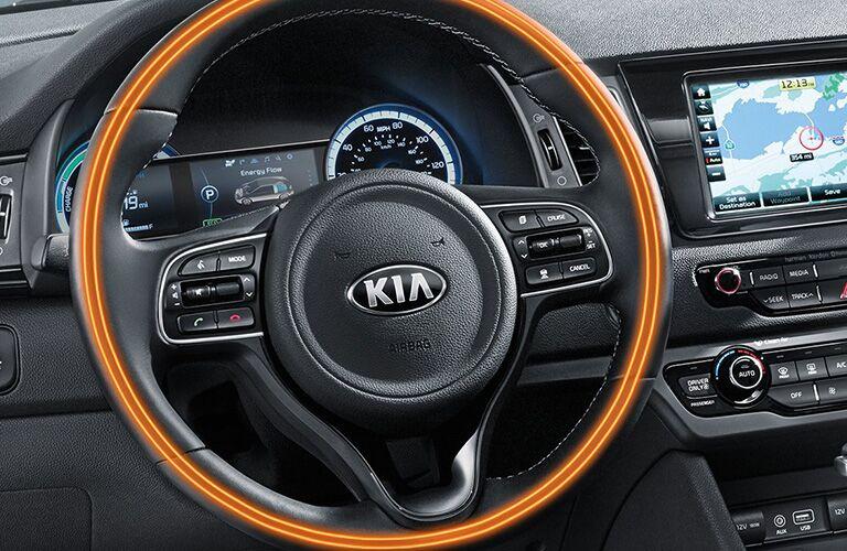 2019 Kia Niro heated steering wheel