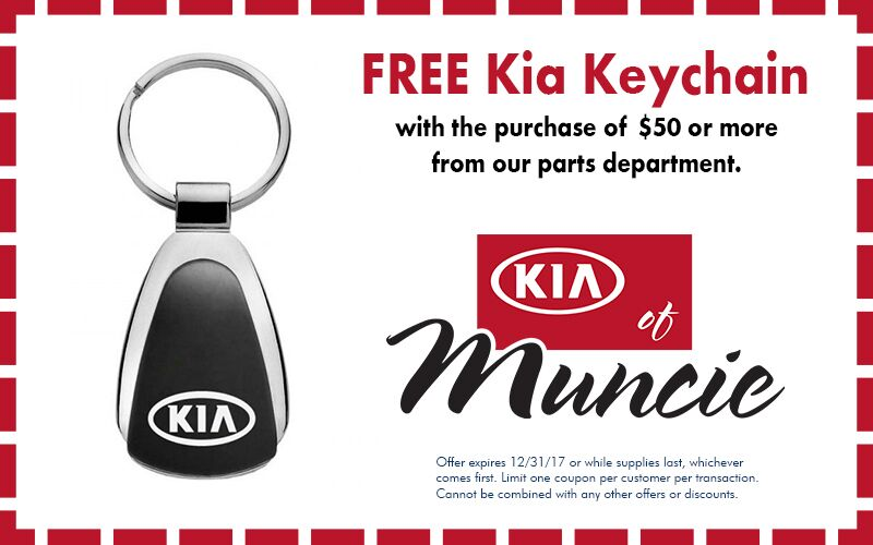 Keychain with Kia parts special Indianapolis IN