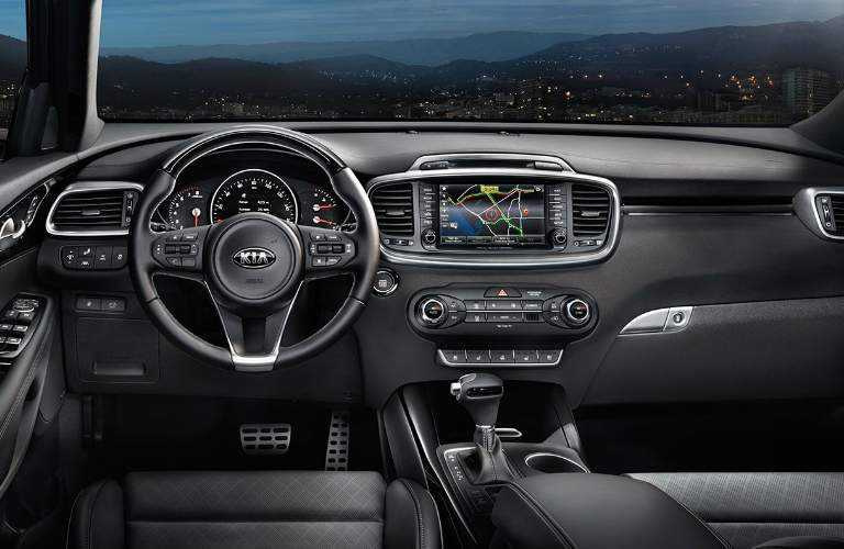 2018 kia sorento interior features and design