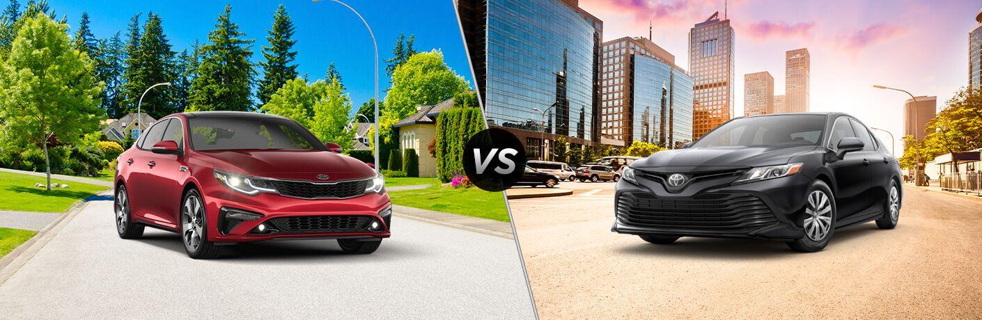 2020 Kia Optima vs 2020 Toyota Camry