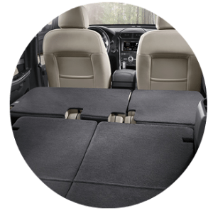 2017 Ford Explorer cargo capacity