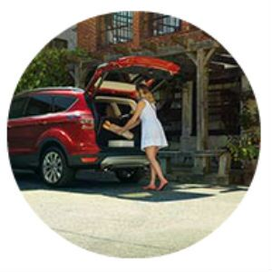 2017 Ford Escape foot-activated liftgate
