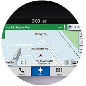 Does the Ford Fiesta have a navigation system?