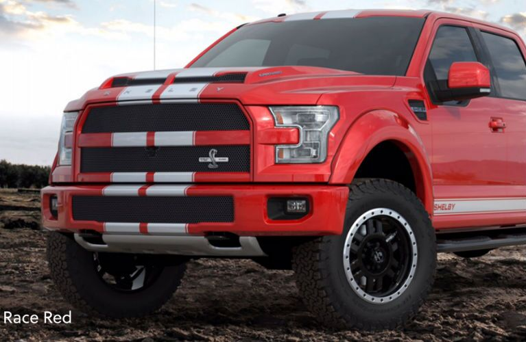 2016 Shelby F-150 with Mustang racing stripes