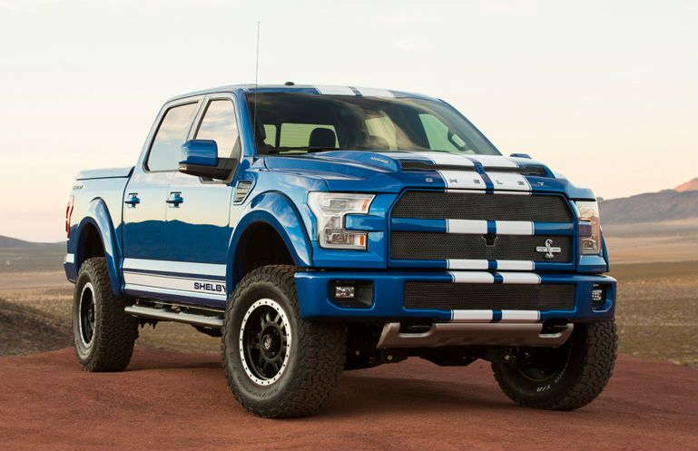 2016 Shelby F-150 with 700-hp engine