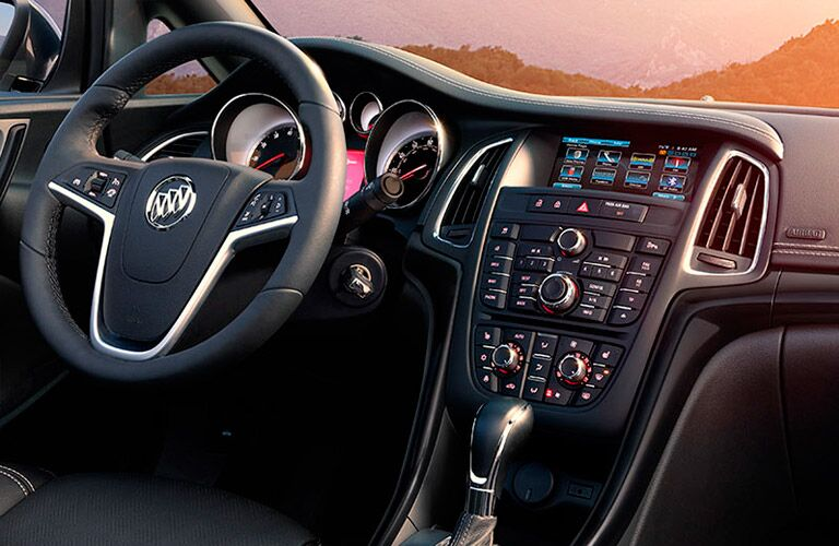 Front dash of the 2016 Buick Cascada