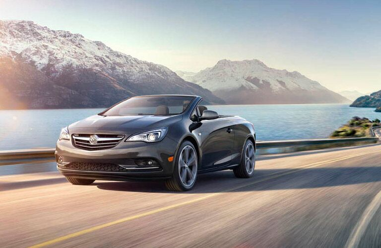 2016 Buick Cascada on the highway