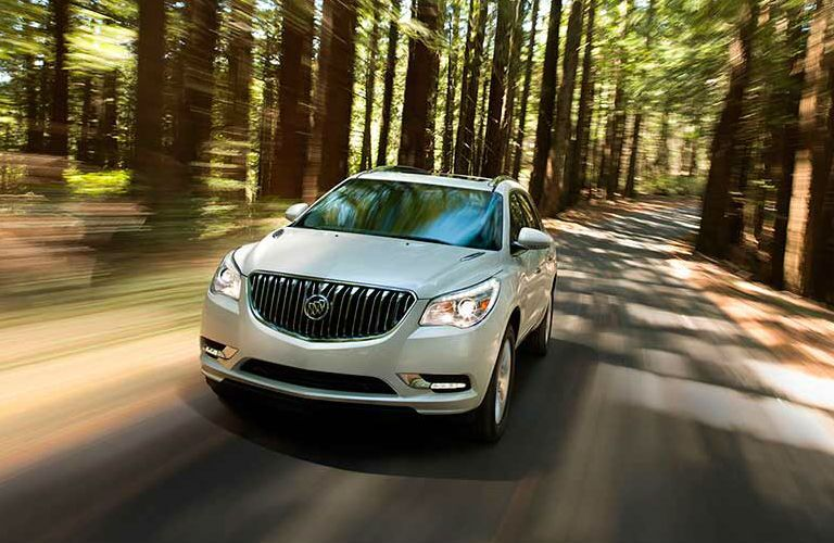 2016 Buick Enclave in the woods