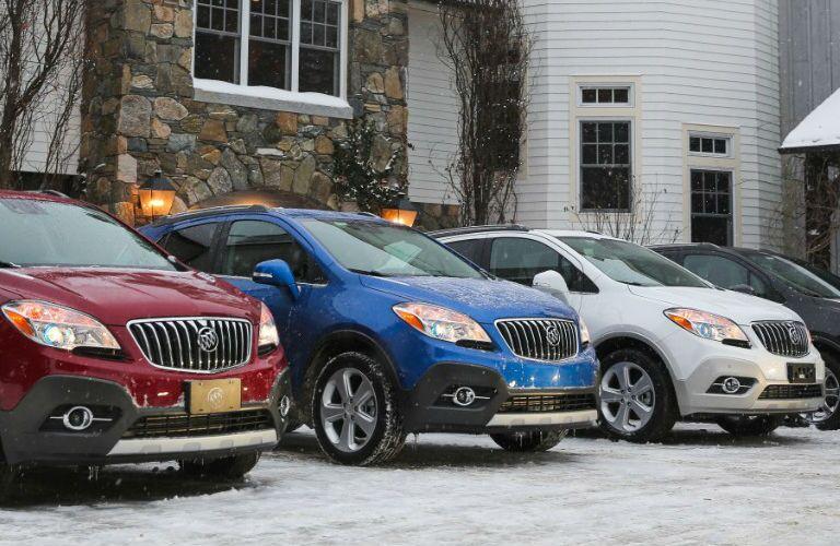 Rainbow of 2016 Buick Encore models