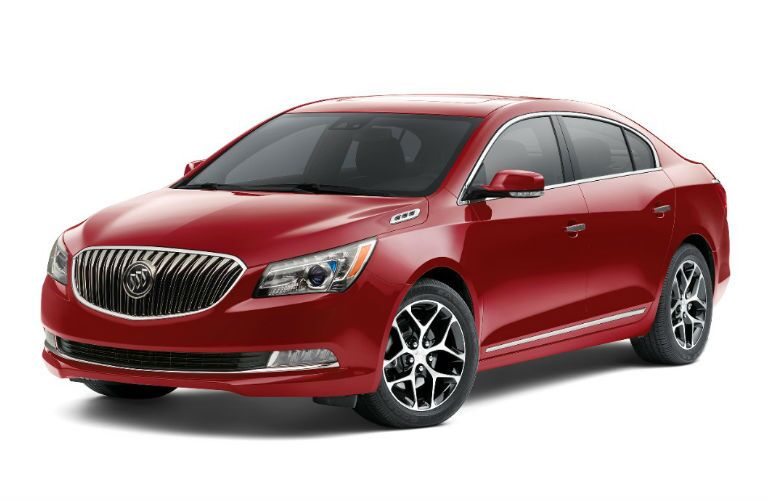 2016 Buick LaCrosse in red