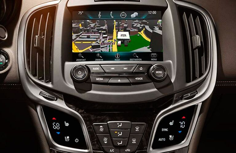 IntelliLink Navigation in 2016 Buick LaCrosse