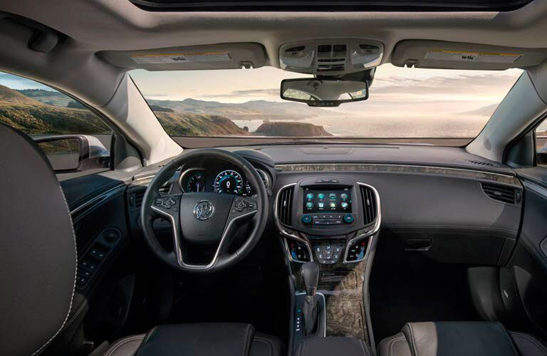 Interior of 2016 Buick LaCrosse