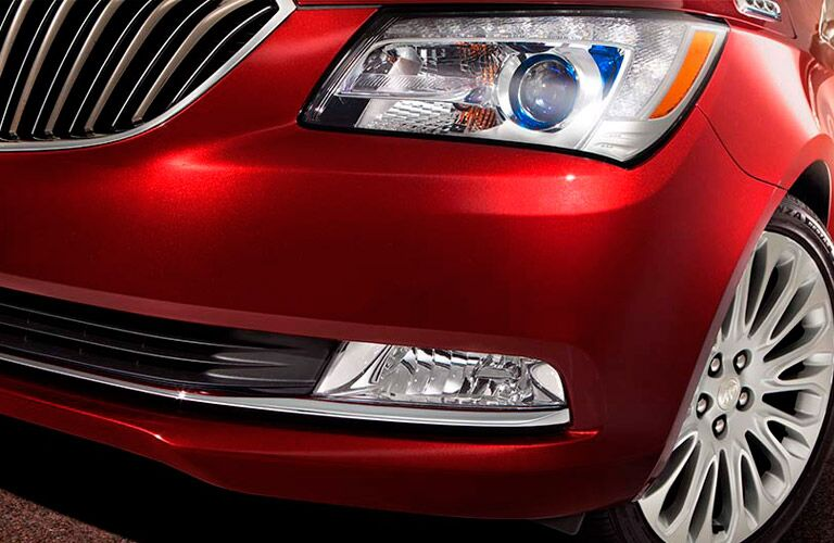 Headlight of 2016 Buick LaCrosse