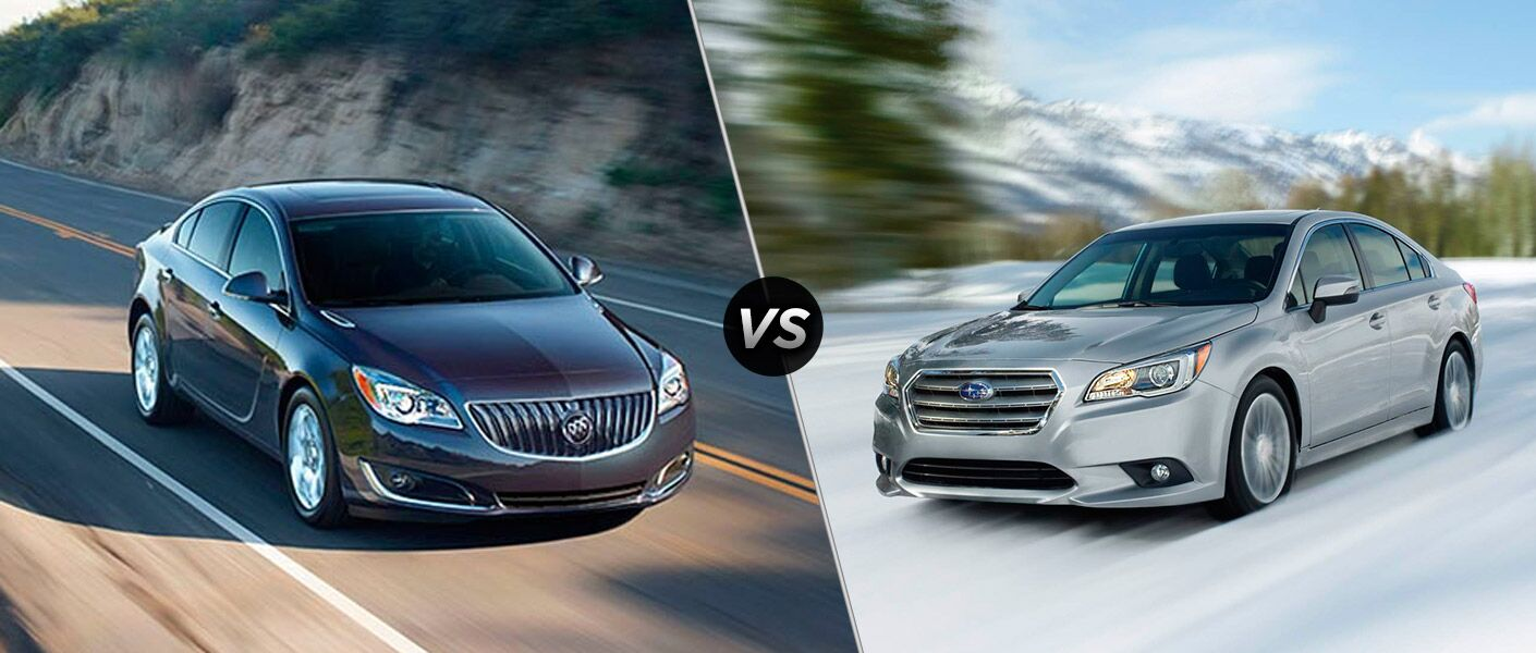 2016 Buick Regal vs 2016 Subaru Legacy