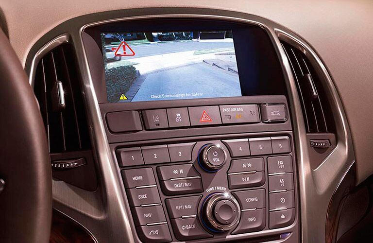 Backup camera in 2016 Buick Verano